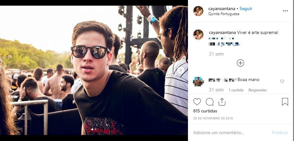 Vítima assistiu jogo do Brasil no Bahia Othon Palace — Foto: Reprodução/Redes Sociais