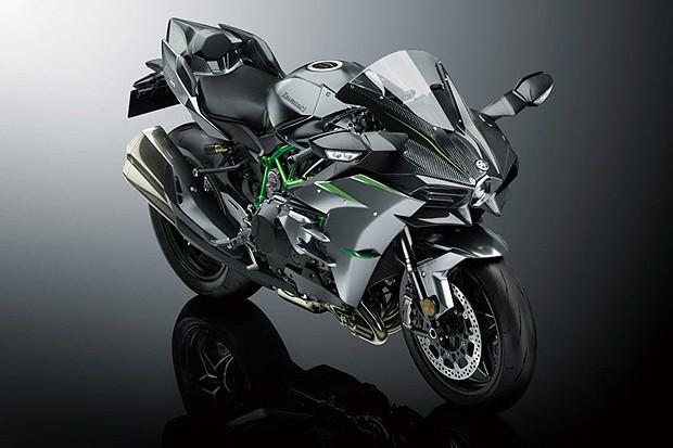 Kawasaki Ninja H2 2019 (Foto: divulgação)