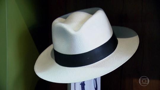 Chapéu Panamá, produzido no Equador, pode chegar a R$ 10 mil