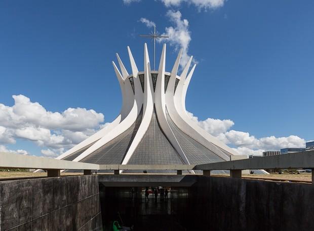 Catedral de Brasília, projetada por Oscar Niemeyer (Foto: Divulgação)