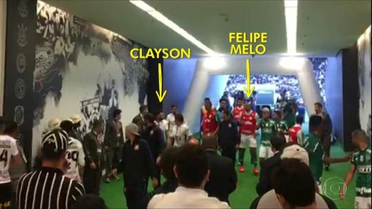 Neto ataca Felipe Melo, e Valdivia usa Twitter para provocar comentarista