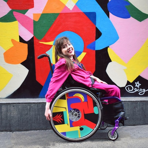Conheça a marca que produz acessórios para cadeiras de rodas (Foto: Reprodução Instagram)