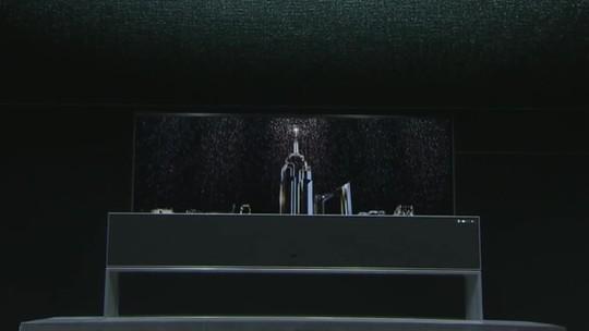 CES 2019: LG vai lançar neste ano TV que pode ser enrolada; Samsung mostra tela de 219 polegadas