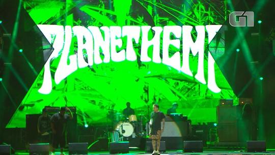 Planet Hemp toca 'Legalize Já' no Festival de Verão