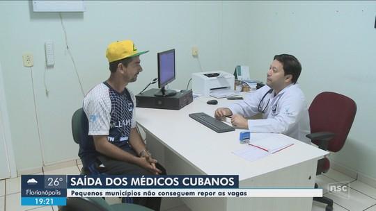 Profissionais não comparecem e cidades de SC ficam sem reposição do Mais Médicos