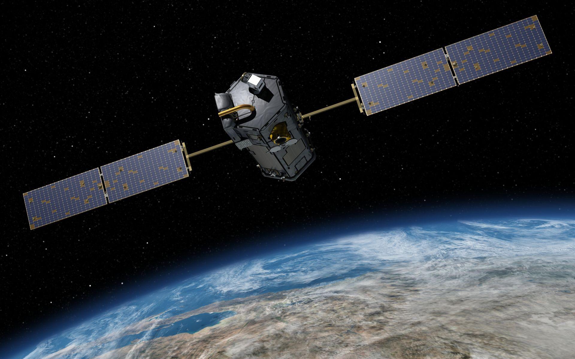 Satélite Orbiting Carbon Observatory 2 lançado em 2014 para monitorar emissão de gases do efeito estufa (Foto: NASA)