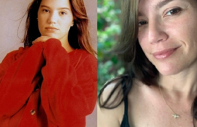 Aos 17 anos, Natália Lage viveu Kika, namorada de Fábio. Os dois lideravam o núcleo jovem da trama. Natália está escalada para 'Um lugar ao sol', novela das 21h (Foto: TV Globo / Reprodução)