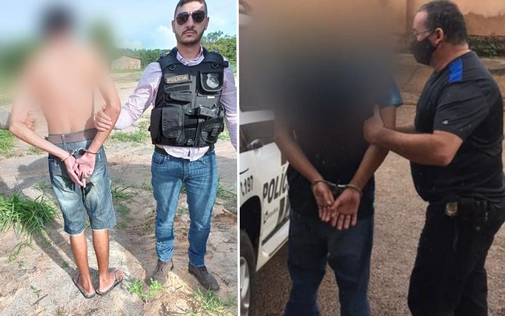 Operação prendeu 89 suspeitos de homicídios em Goiás — Foto: Reprodução/TV Anhanguera
