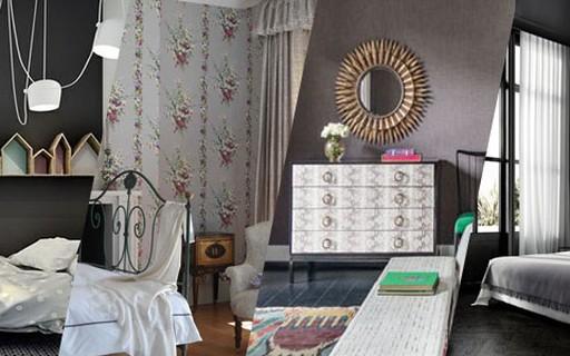 3b841fae5 Quarto cinza  15 opções elegantes - Casa Vogue
