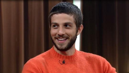Chay Suede: 'Atuar pelado depende muito com quem (...) É mais técnico que íntimo'