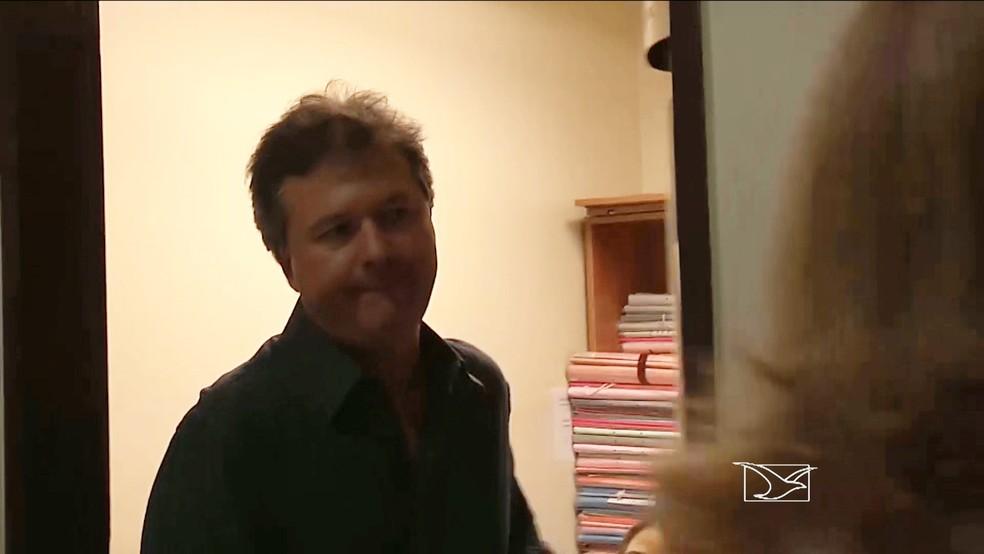 Juiz Marcelo Baldochi é acusado de manter trabalhadores em condição análoga à escravidão no Maranhão — Foto: Reprodução / TV Mirante