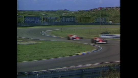 Última corrida de Fórmula 1 em Zandvoort teve pódio estrelado com Lauda, Prost e Senna