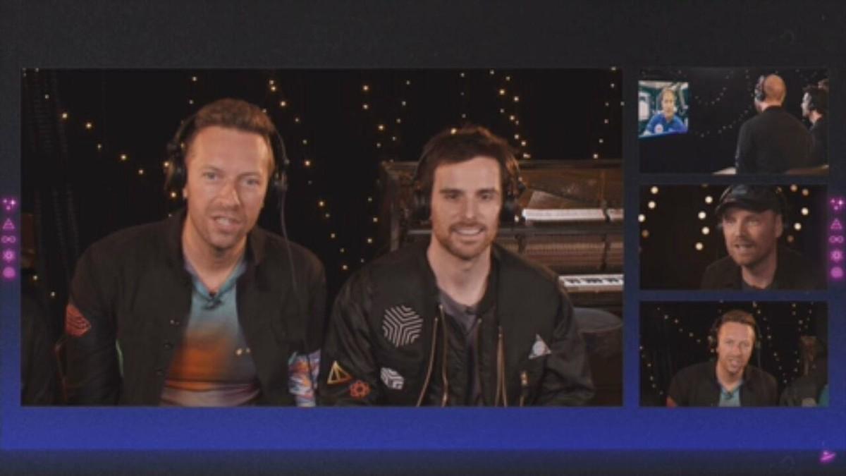 Nova música do Coldplay é tocada pela 1ª vez a bordo da Estação Espacial Internacional