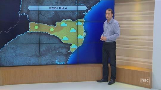 Acumulado de chuva em SC já ultrapassa o esperado para setembro em várias cidades