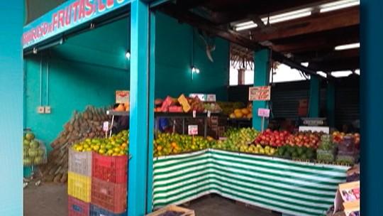 Poucos feirantes devem comparecer no Mercado do Produtor de Mogi neste domingo por falta de mercadorias
