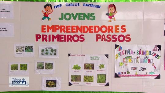 'Diário de Escola': Caieiras tem aulas de empreendedorismo nas escolas de ensino fundamental
