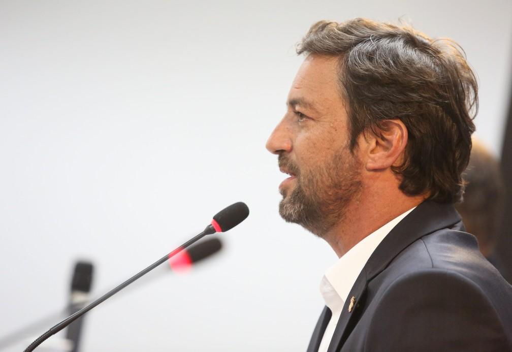 Duílio Monteiro Alves, novo presidente do Corinthians — Foto: Rodrigo Coca/Ag. Corinthians