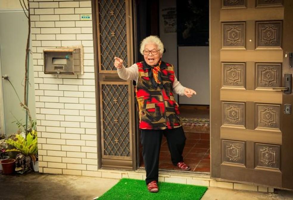 Ogimi está no Livro Guinness dos Recordes por ter a população mais velha do mundo (Foto: Héctor García/BBC)