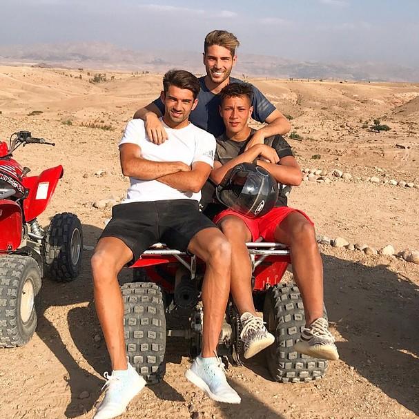Família Zidane (Foto: Instagram/Reprodução)