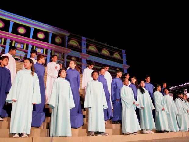 Cerca de 2 mil jovens do Cláudio Santoro e do Jovem Cidadão estarão atuando nos palcos (Foto: Tiago Melo/ G1 AM)