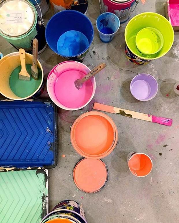 Com quase 2 mil m², instalação de cores invade Nova York (Foto: Color Factory)