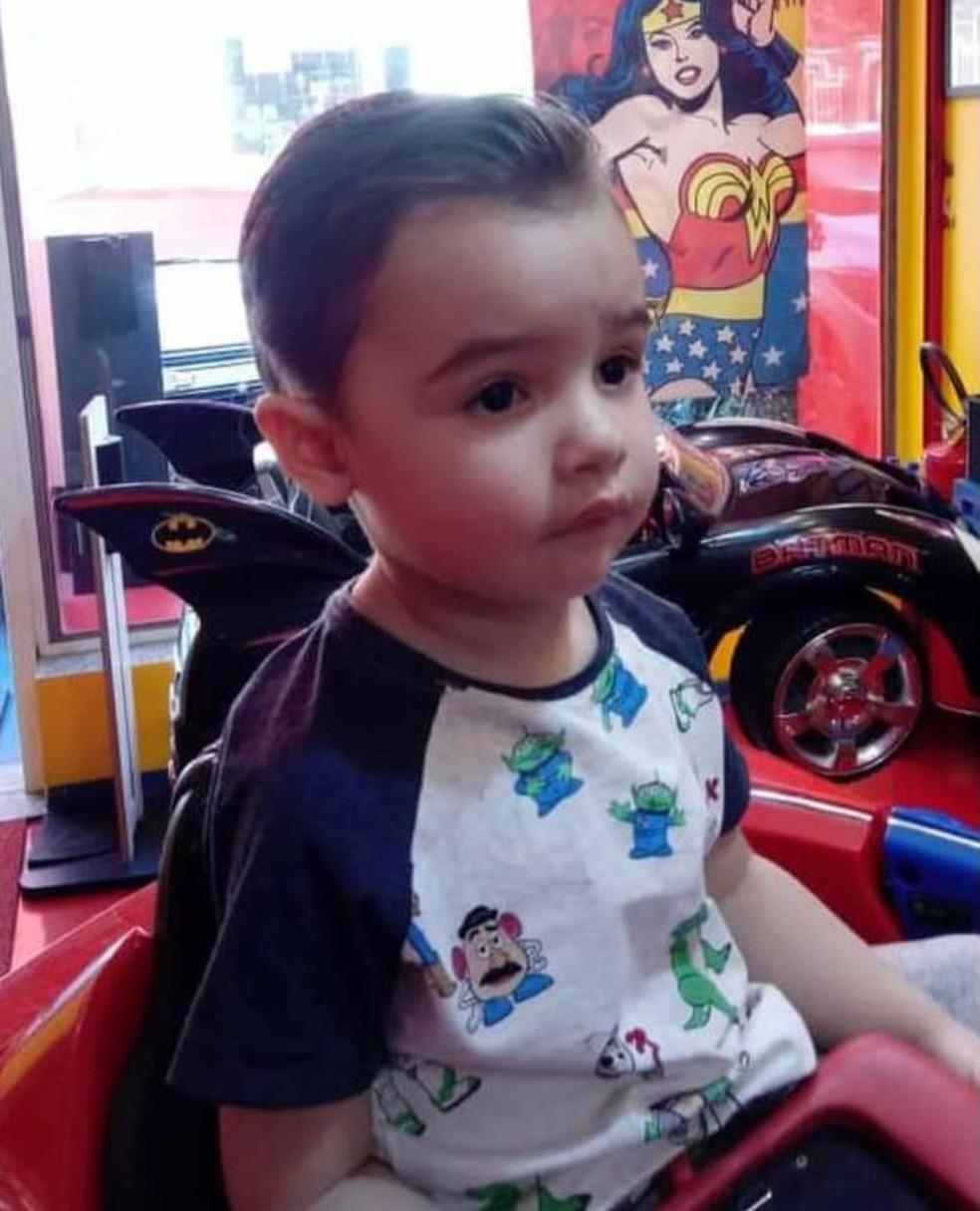 Gael Freitas Nunes, de 3 anos — Foto: Arquivo Pessoal/Veronica Nunes