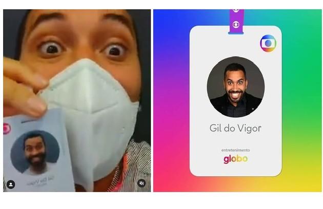Gil do Vigor teve o contrato renovado pela Globo e deve ter um quadro relacionado à economia num dos programas da emissora (Foto: Reprodução)