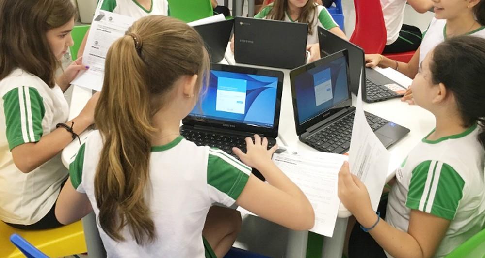 Plataformas digitais beneficiam educação