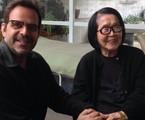Alberto Renault grava 'Casa brasileira' | Arquivo pessoal
