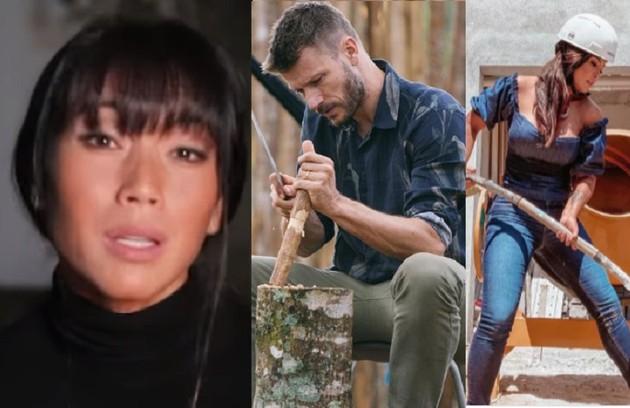 Danni Suzuki, Rodrigo Hilbert e Carol Nakamura são alguns dos artistas que colocam a mão em suas obras (Foto: Reprodução/Instagram)
