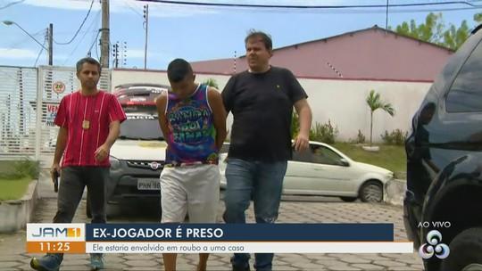Desempregado, jogador é preso em flagrante por suspeita de assalto a mão armada em Manaus