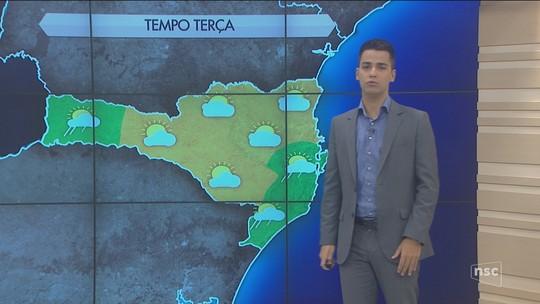Terça-feira deve ser de sol e calor em todas as regiões de SC