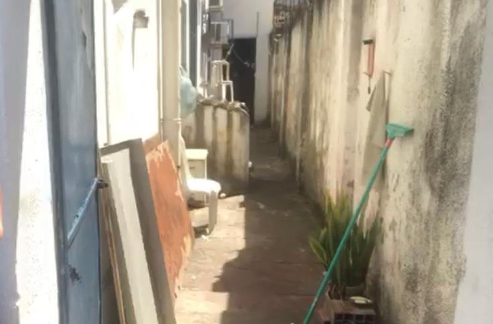 Vila onde idoso morava e foi encontrado morto, em Natal — Foto: Kleber Teixeira/Inter TV Cabugi