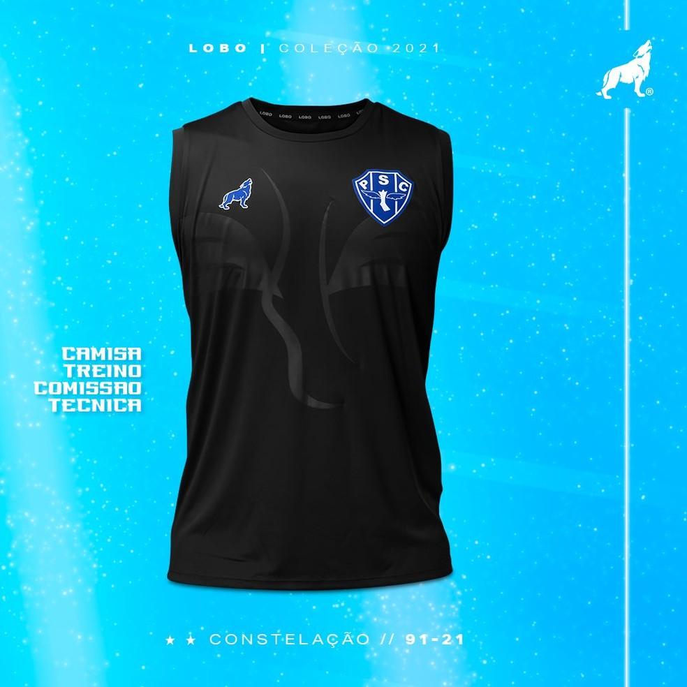 Camisa de treino comissão técnica - versão regata — Foto: Divulgação