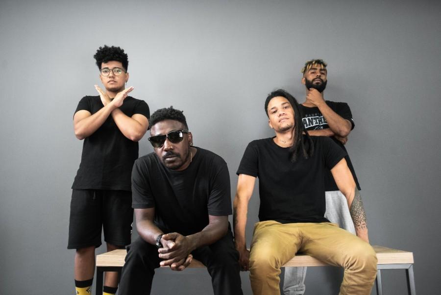 ÀTTØØXXÁ, a banda sensação de Salvador, lista as músicas que bombar no Carnaval 2019 (Foto: Rafael Ramos)