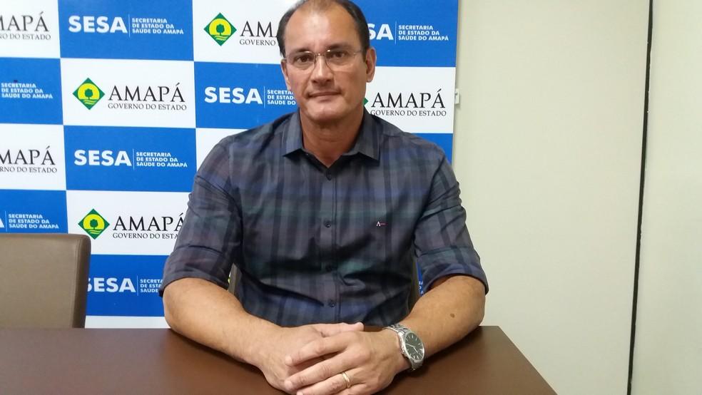 Gastão Calandrini, secretário de estado de Saúde (Foto: Jéssica Alves/G1)