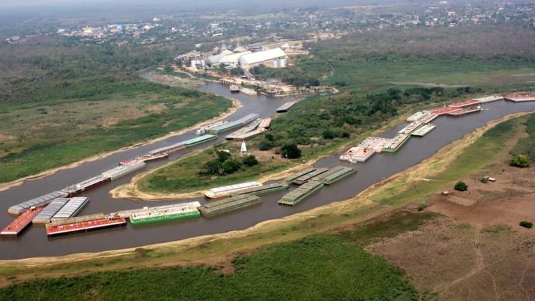 navegacao-rio-paraguai-ms (Foto: Gov. de MS/Secom)