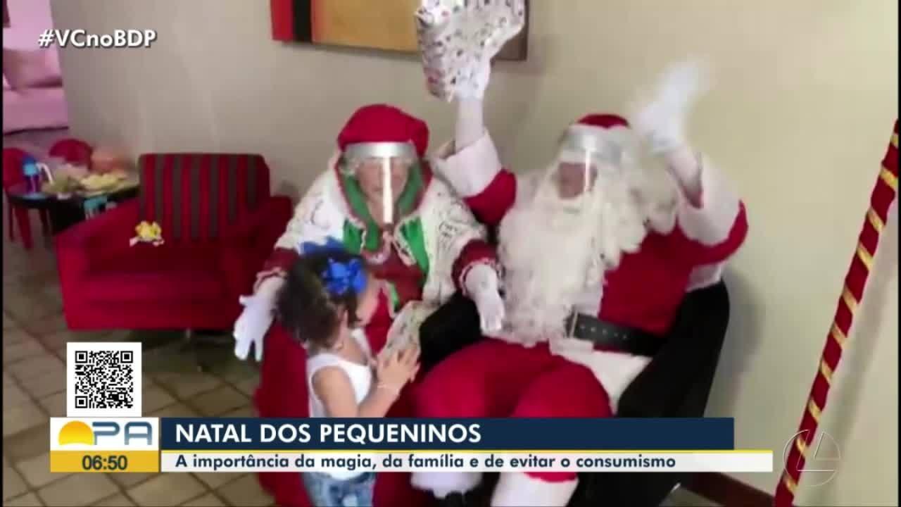 Quadro Pequeninos fala da magia do Natal e do verdadeiro sentido da data comemorativa