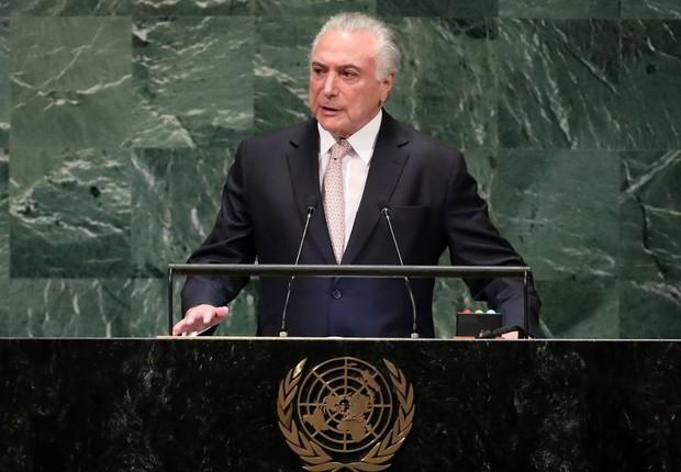 Para o presidente, o unilateralismo e a intolerância comprometem a ordem mundial (Foto: Carlo Allegri/Agência Brasil)