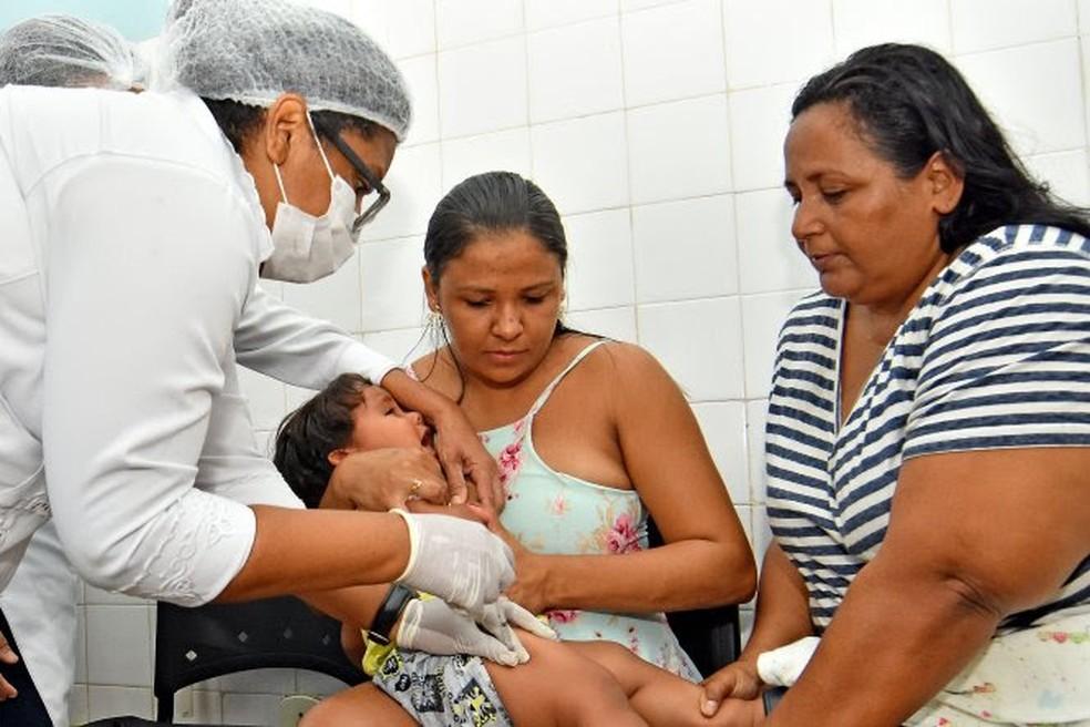 Dia D municipal de vacinação faz parte do calendário da Campanha Nacional de Vacinação. — Foto: Maurício Alexandre/Divulgação