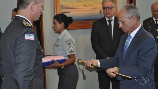 Comandante-geral da Polícia Militar toma posse do cargo no ES
