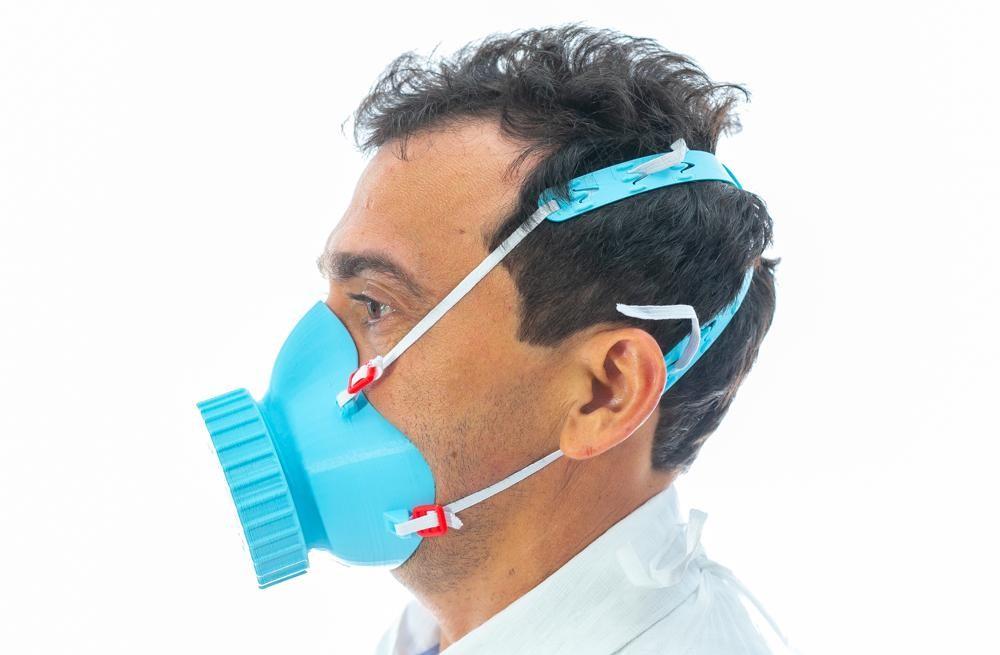 Pesquisadores do Piauí criam máscaras respiratórias à base amido de milho em impressoras 3D