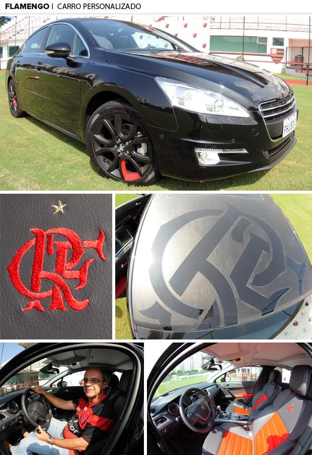 Curtinha: presidente do Flamengo recebe carro de patrocinadora