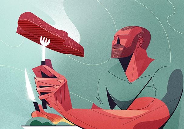 Musculoso (Foto: Ilustração: Denis Freitas)