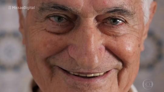 Missão Digital transforma a vida de aposentado de 81 anos