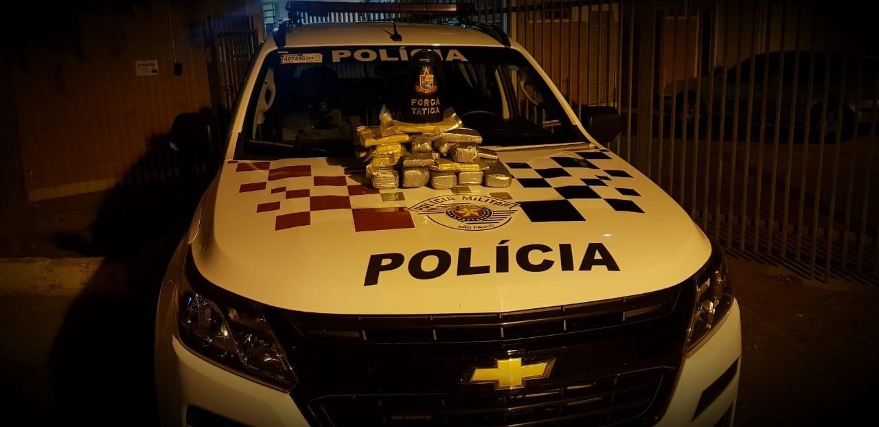 Mais de 40 kg de maconha são apreendidos pela Polícia Militar após abordagens a ônibus - Notícias - Plantão Diário
