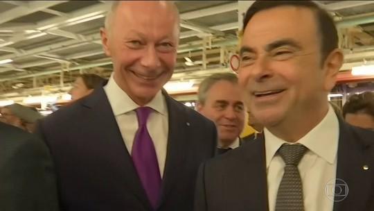 Renault nomeia 'chefe' interino, mas mantém Carlos Ghosn na presidência