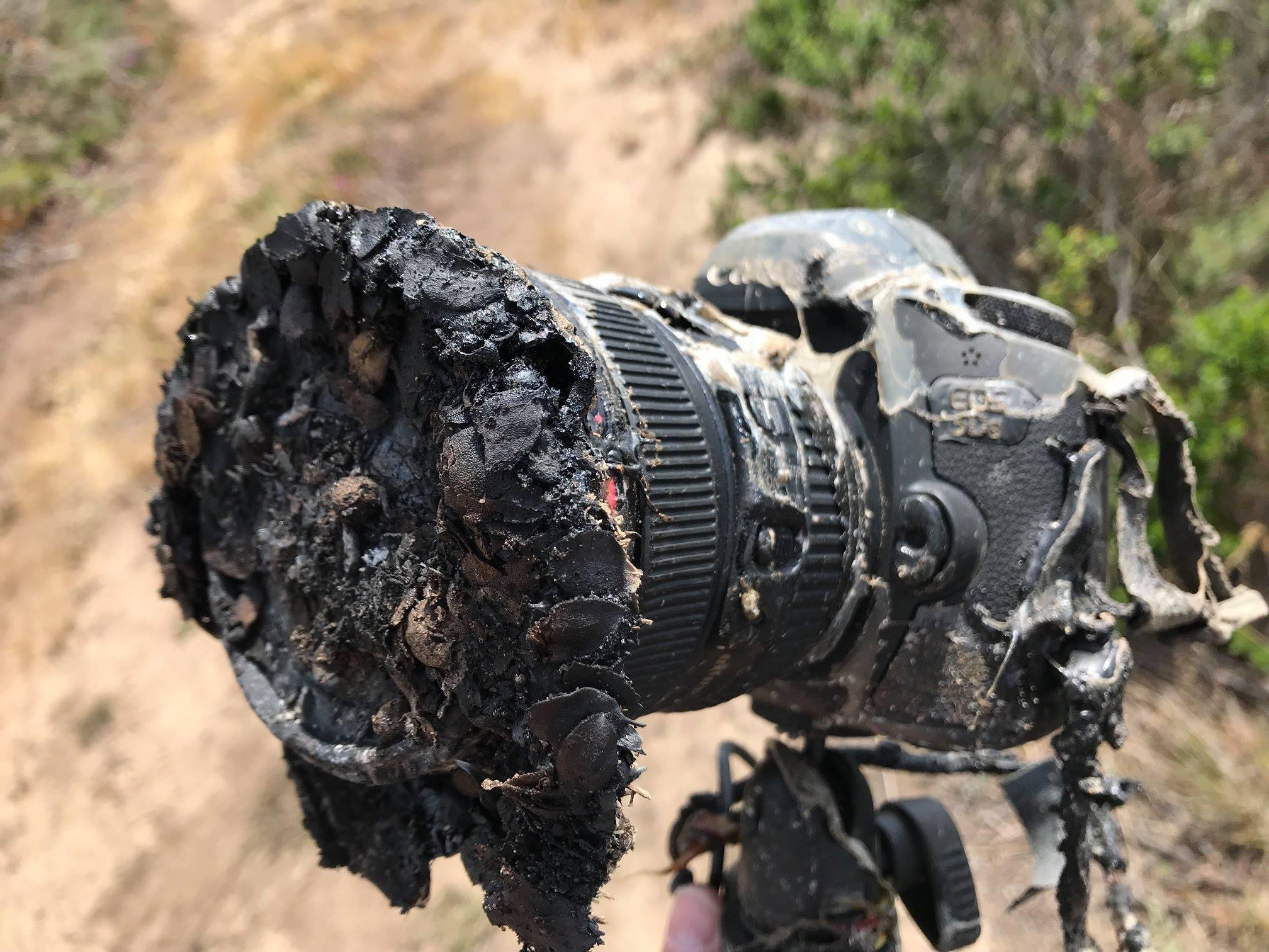 A câmera de Ingalls foi destruída no lançamento do Falcon 9. (Foto: NASA/Bill Ingalls)
