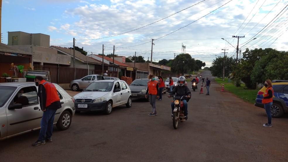 Terceiro bairro é bloqueado em Foz do Iguaçu por causa do ...