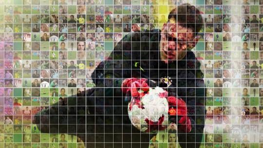 Canhota potente de Ederson fazia muitos gols, mesmo como goleiro